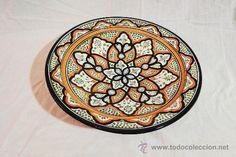 Plato de artesanía marroquí