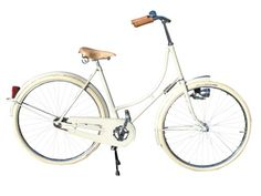 Bicycle handlebars I can reach without leaning forward!  Achielle Craighton Pure - Pure Luxurious Vintage!
