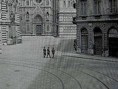 Paisà di Roberto #Rossellini 1946 #Firenze #Piazza San Giovanni