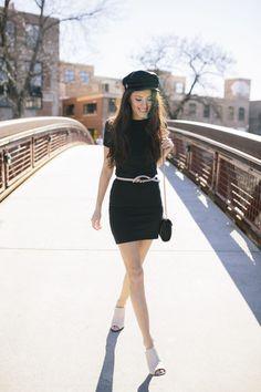 27b65114bb5 10 Best Black T-Shirt Dress Outfit images