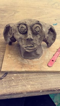 Experimenting with different faces in ceramics