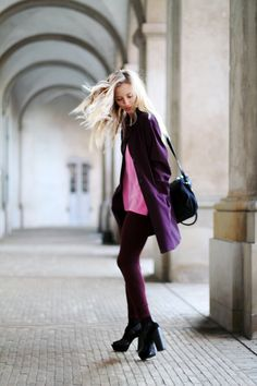 Berry (by Sarah Mikaela) http://lookbook.nu/look/2946955-Berry