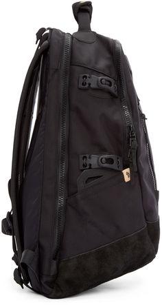 189058d58e4d Visvim - Black Ballistic 20L Backpack 20l Backpack