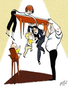 Cute Incredibles piece.