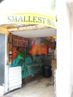 Smallest Bar in Key West. See how many of your friends you can squeeze in.