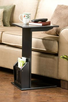 Magazine Snack Table - Black on HauteLook