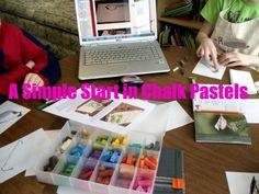 A Simple Start in Chalk Pastels Art Curriculum Review