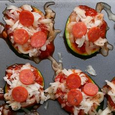 After School Zucchini Pizzas Recipe by Tasty