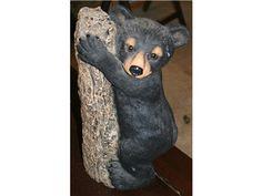 Bear Cub Statue