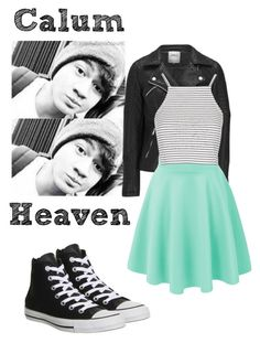 """Calum Imagine .... Avaree"" by imaginegirl1d5sos ❤ liked on Polyvore featuring moda, ONLY, Topshop, Converse, living room, ImagineGirlsImagines e Av7Sets"