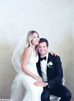 What do you think about Lauren Conrad's wedding pictures?!