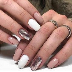 Maybe you have discovered your nails lack of some trendy nail art? Sure, recently, many girls personalize their nails with lovely … Heart Nail Designs, Beautiful Nail Designs, Nail Art Designs, Cute Acrylic Nails, Cute Nails, Pretty Nails, Hair And Nails, My Nails, Shiny Nails