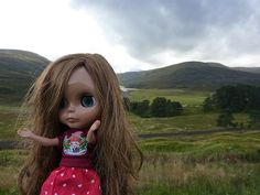 Leilani Pele in the Cairngorms