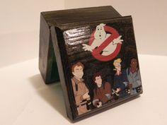 The Real Ghostbusters Cartoon Retro Trinket Stash Keepsake Box