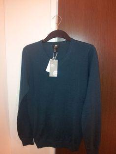 Fine-knit merino wool jumper