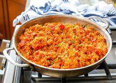 Spanish Rice Fiesta Rice Recipe, Rice Recipes, Mexican Food Recipes, Dinner Recipes, Cooking Recipes, Healthy Recipes, Ethnic Recipes, Burrito Recipes, Dinner Ideas