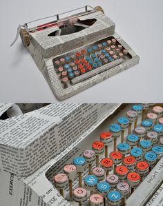 paper typewriter.