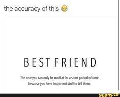 Unless you're in a relationship with them..then the silent treatment sucks jussssssssttttttt a lil