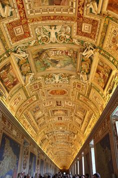 Gallery of Maps, Vatican Museum. beautiful, been there.