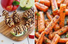 8 večerných maškŕt, z ktorých nepriberieš - KAMzaKRÁSOU. Carrots, Vegetables, Food, Essen, Carrot, Vegetable Recipes, Meals, Yemek, Veggies