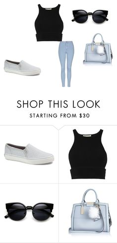 """Untitled #480"" by moonlightprincess93 on Polyvore featuring Keds, Jonathan Simkhai, River Island, Topshop, women's clothing, women, female, woman, misses and juniors"