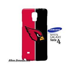 Arizona Cardinals Custom Samsung Galaxy Note 4 Hardshell Case