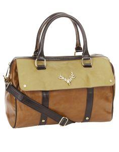 Stag Head Soft Barrel Bag | Multi | Accessorize