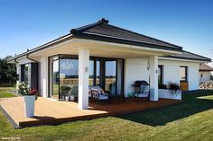 Home Decorators Lighting Collection Modern Bungalow Exterior, Modern Bungalow House, Home Building Design, Home Design Plans, Interior Modern, Home Interior, House Plans South Africa, Small Villa, House On Stilts