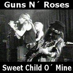 Guns N´ Roses - Sweet Child O´ Mine chords acordes
