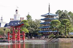EPCOT - Japan - Pagoda by twg1942, via Flickr
