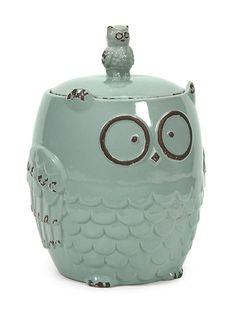 Hoot Owl Cookie Jar