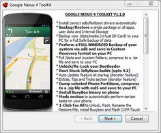 Nexus 4 All In One Toolkit Released - Root, backup, restore, flash custom rom and much more