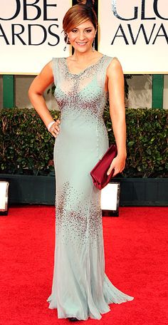 Callie Thorne from Necessary Roughness looked fab in her Alberta Ferretti gown