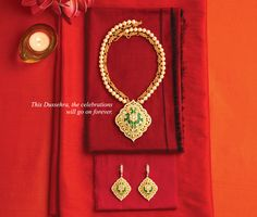 Indian gold jewellery for festivals From #TBZ