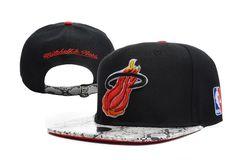 NBA Miami Heat Snapback Hats Caps Black snakeskin 2725! Only  8.90USD 1811d89b0