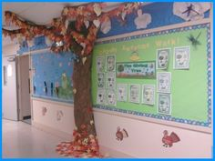 Switch out the green on our library tree and make a fall one. Cute idea :D The Giving Tree By Shel Silverstein Elementary School Bulletin Board Fall Display Bulletin Board Tree, Elementary Bulletin Boards, Classroom Bulletin Boards, Classroom Fun, Shel Silverstein, School Displays, Classroom Displays, Hallway Displays, Fall Displays