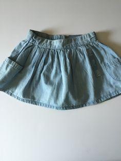Check out this listing on Kidizen: Baby Gap Chambray Pocket Skirt 18-24 via @kidizen #shopkidizen