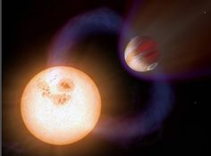 Fastest Planet.  Credit: NASA, ESA, A. Schaller (for STScI)SWEEPS-10 orbits its parent star from a distance of only 740,000 miles, so close that one year on the planet happens every 10 hours. The exoplanet belongs to a new class of zippy exoplanets called ultra-short-period planets (USPPs), which have orbits of less than a day.