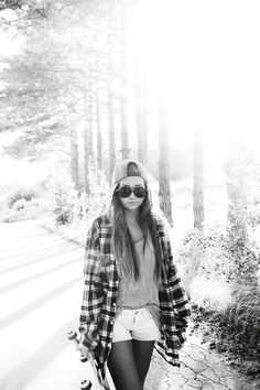 girl, obey, skate, trap, flannel, snapbacl, swag, chic mixed with a bit of sass