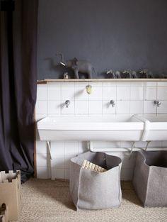Relooker Salle De Bain Avec Carrelage Blanc Joints Noir Orphelinat - Carrelage joint noir