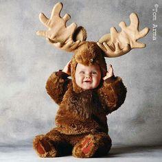 Moose costume!
