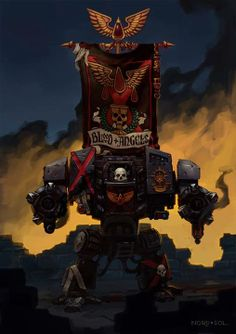 Blood Angels Death Company Dreadnought