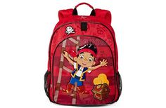 Disney Jake Backpack. Send your little swashbuckler on all his learning adventures with this Disney backpack, featuring Jake and the Never Land Pirates. - To order: http://www.shopaholic.com.ph/new.html#!/Disney-Jake-Backpack/p/48312863/category=6966429