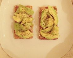 Avocado healthy snack