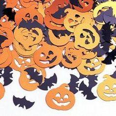 Halloween folie konfetti til din næste uhyggelig halloween fest.