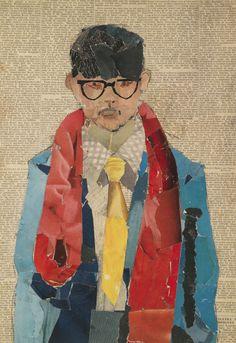 Self portait de David Hockney