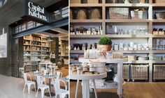industrial modern rustic decor - would love to have a wall like this in my kitchen/pantry/where ever!