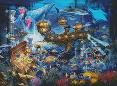 Atlantis Express Material Pack