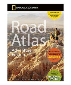 Look at this #zulilyfind! Adventure Road Atlas Paperback by National Geographic #zulilyfinds
