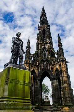 Scott Monument by chriswtaylor #travel #traveling #vacation #visiting #trip #holiday #tourism #tourist #photooftheday #amazing #picoftheday